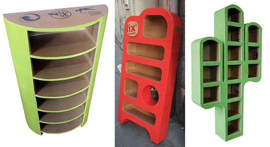 DIY Cardboard Box Furniture