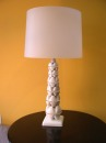 white-recycled-pet-lamp- artista Thierry Jeannot